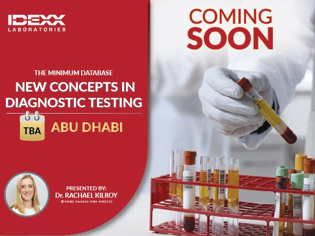 The minimum database: new concepts in diagnostic testing - Abu Dhabi