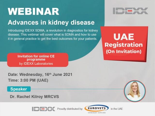 Advances in kidney disease - Webinar (UAE)