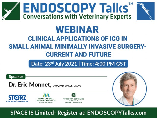 Clinical applications of ICG in Small Animal Minimally Invasive Surgery - Current and Future