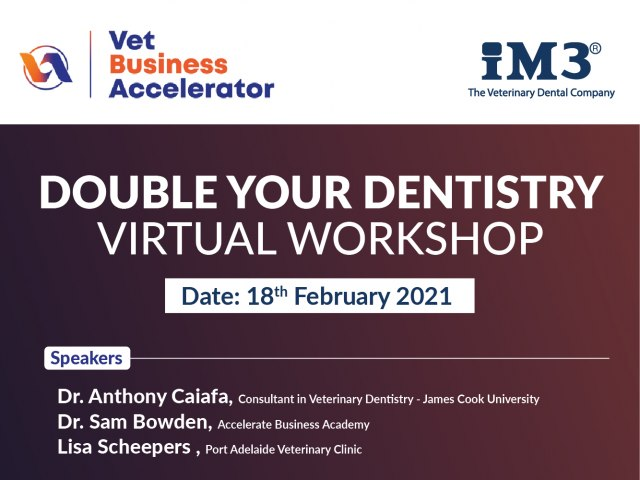 Double Your Dentistry - Virtual Workshop