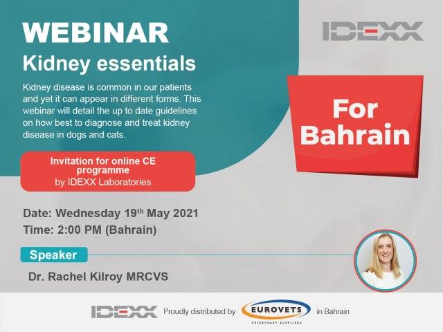 Kidney Essentials - Webinar (Bahrain)