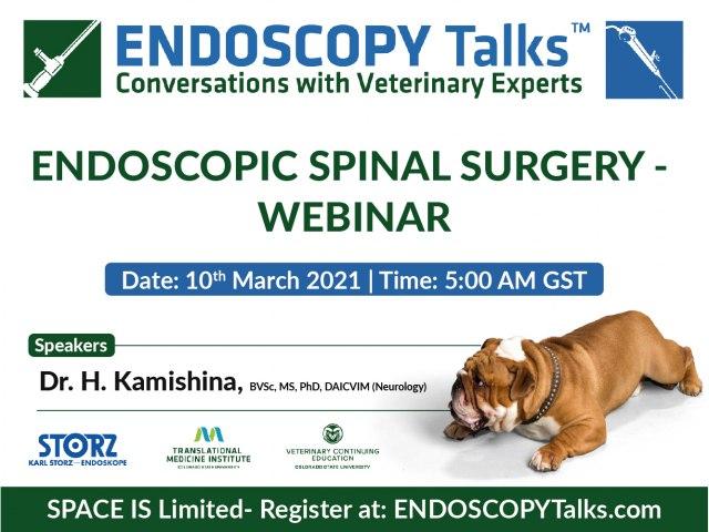 Endoscopic Spinal Surgery - Webinar