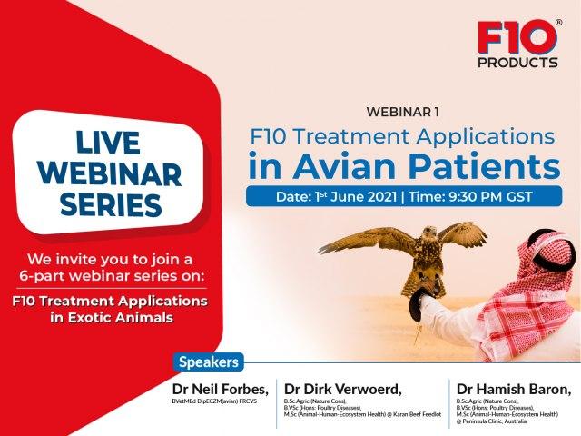 F10 Treatment Applications in Avian Patients - Webinar