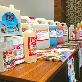 Infection control training for veterinary animal care facility